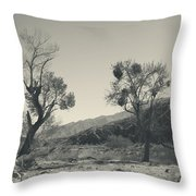 Suvival Can Be Tough Throw Pillow