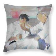 Suzuki Sensei Throw Pillow