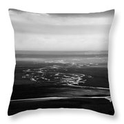 Svinafell Rivulets Throw Pillow