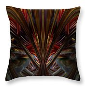 Swallowed By The Dark Fx  Throw Pillow