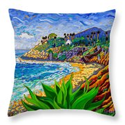 Swami's Agave Throw Pillow