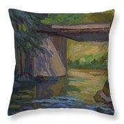 Swauk Creek Early Spring Throw Pillow