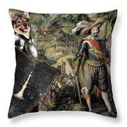 Swedish Vallhund  - Vastgotaspets Art Canvas Print Throw Pillow