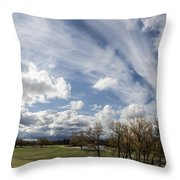 Sweeping Heaven Throw Pillow