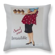 Sweet And Irresistible Throw Pillow