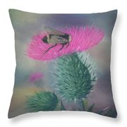 Sweet And Prickly Throw Pillow