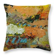 Sweet And Spicy Throw Pillow