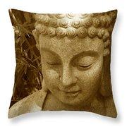 Sweet Buddha Throw Pillow