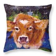 Sweet Buttercup Throw Pillow