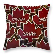 Sweet Canada... Throw Pillow
