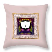 Sweet Throw Pillow by Caroline Gilmore