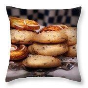 Sweet - Cookies - Cookies And Danish Throw Pillow