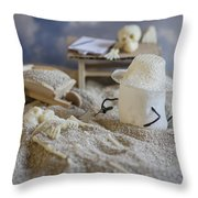 Sweet Discovery Throw Pillow