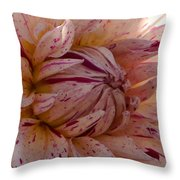 Sweet Freckled Face Throw Pillow