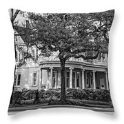 Sweet Home New Orleans Bw Throw Pillow