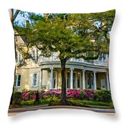 Sweet Home New Orleans Paint Throw Pillow