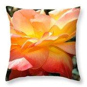 Sweet Juliet Rose Throw Pillow