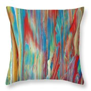 Sweet Morinings Throw Pillow