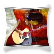 Sweet Music Throw Pillow