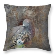 Sweet Pair Throw Pillow by Carla Parris