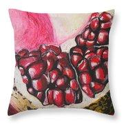 Sweet Pomegranate Throw Pillow