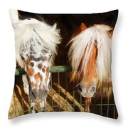 Sweet Pony Throw Pillow