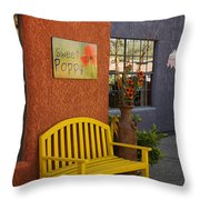 Sweet Poppy Shops Tubac Arizona Dsc08406 Throw Pillow