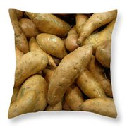 Sweet Potatoes Throw Pillow