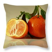 Sweet Reflection Of Nature Throw Pillow