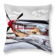 Sweet Revenge 3 Throw Pillow