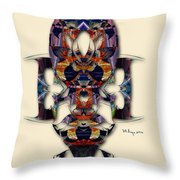Sweet Symmetry - Projections Throw Pillow