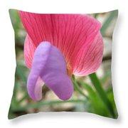 Sweet Tiny Wildflower Throw Pillow