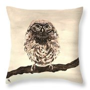 Sweetest Owl Throw Pillow