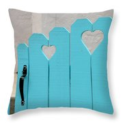 Sweetheart Gate Throw Pillow