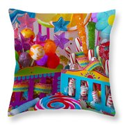 Sweets 3 Throw Pillow
