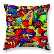 Sweets By Rafi Talby    Throw Pillow