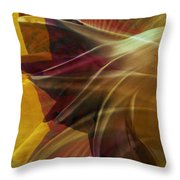 Swept Throw Pillow