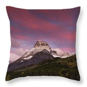 Swiftcurrent Sunrise Throw Pillow
