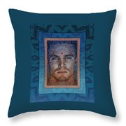 Swim In The Ocean Of Bliss Throw Pillow