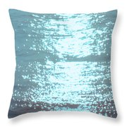 Swimming Together Throw Pillow