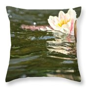 Swimmingly Beautiful Throw Pillow