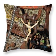 Swing Set Ad Lib Throw Pillow