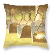 Swing With Nature Throw Pillow