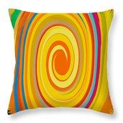 Swirl 80 Throw Pillow