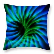 Swirled Confusion Throw Pillow
