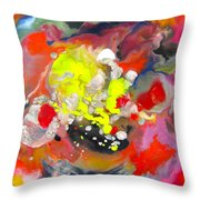 Swirling Throw Pillow