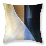 Swirls And Lines Throw Pillow