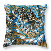 Swirly Mirror Throw Pillow