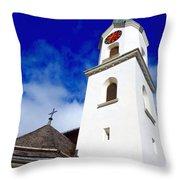 Swiss Church Throw Pillow