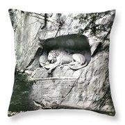 Swiss Guard Tribute Throw Pillow